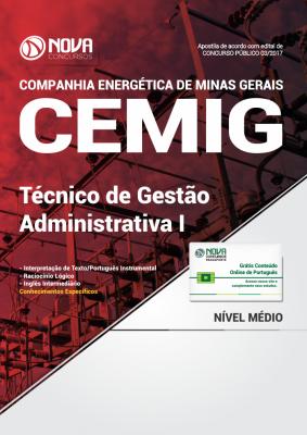 Apostila CEMIG - MG - Técnico de Gestão Administrativa I