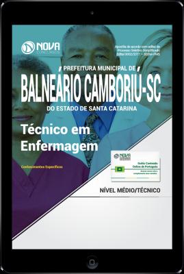Download Apostila Prefeitura de Balneário Camboriú - SC PDF - Técnico em Enfermagem