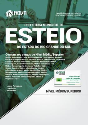 Apostila Prefeitura de Esteio - RS - Comum aos cargos de Nível Médio/Superior