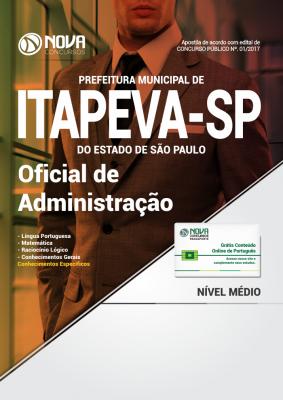 Apostila Prefeitura de Itapeva - SP - Oficial de Administração