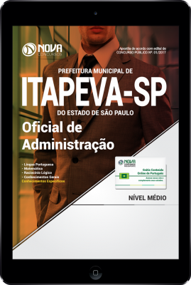 Download Apostila Prefeitura de Itapeva - SP PDF - Oficial de Administração