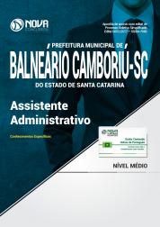 Apostila Prefeitura de Balneário Camboriú - SC - Assistente Administrativo