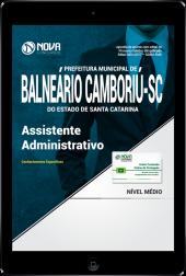 Download Apostila Prefeitura de Balneário Camboriú - SC PDF - Assistente Administrativo