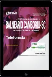 Download Apostila Prefeitura de Balneário Camboriú - SC PDF - Telefonista