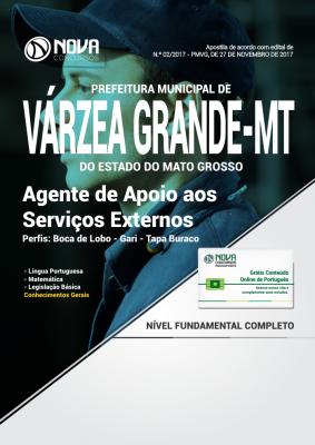 Apostila Prefeitura de Várzea Grande - MT - Agente de Apoio aos Serviços Externos