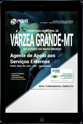 Download Apostila Prefeitura de Várzea Grande - MT PDF - Agente de Apoio aos Serviços Externos