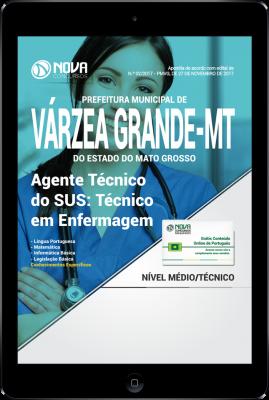 Download Apostila Prefeitura de Várzea Grande - MT PDF - Agente Técnico do SUS: Técnico em Enfermagem