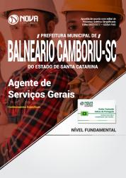Apostila Prefeitura de Balneário Camboriú - SC - Agente de Serviços Gerais