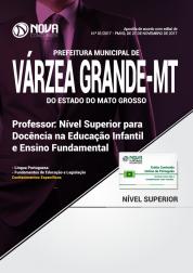 Apostila Prefeitura de Várzea Grande - MT - Professor de Educação Infantil e Ensino Fundamental