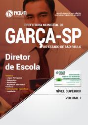 Apostila Prefeitura de Garça - SP - Diretor de Escola