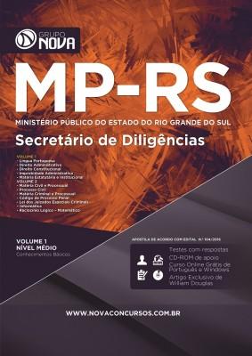 Apostila MP RS - Secretário de Diligências