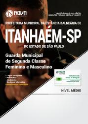 Apostila Prefeitura de Itanhaém SP - Guarda Municipal de Segunda Classe