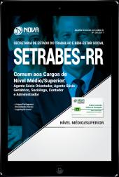 Download Apostila SETRABES - RR PDF - Comum aos Cargos de Nível Médio/Superior