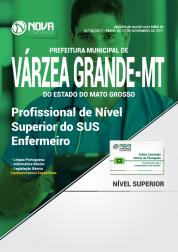 Apostila Prefeitura de Várzea Grande - MT - Profissional de Nível Superior do SUS - Enfermeiro