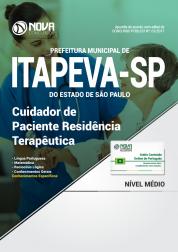 Apostila Prefeitura de Itapeva - SP - Cuidador de Paciente Residência Terapêutica