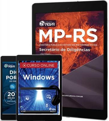 Download Apostila MP RS Pdf - Secretário de Diligências