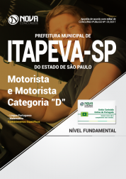 Apostila Prefeitura de Itapeva - SP - Motorista e Motorista Categoria D