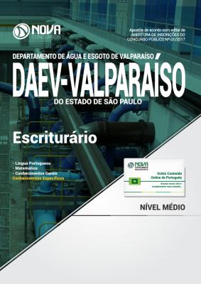 Apostila DAEV-Valparaíso - SP - Escriturário