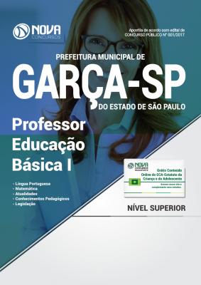 Apostila Prefeitura de Garça - SP - Professor Educação Básica I