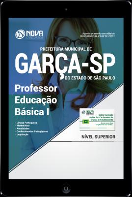 Download Apostila Prefeitura de Garça - SP PDF - Professor Educação Básica I