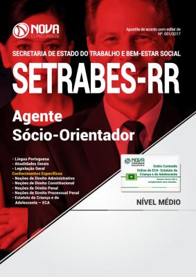 Apostila SETRABES - RR - Agente Sócio-Orientador