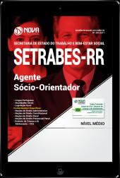 Download Apostila SETRABES - RR PDF - Agente Sócio-Orientador
