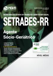 Apostila SETRABES - RR - Agente Sócio-Geriátrico