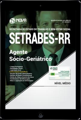 Download Apostila SETRABES - RR PDF - Agente Sócio-Geriátrico