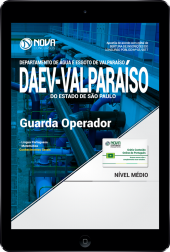 Download Apostila DAEV-Valparaíso - SP PDF - Guarda Operador