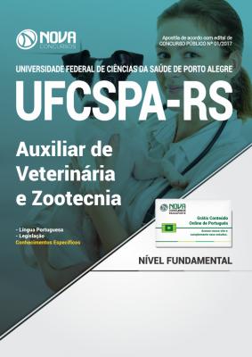 Apostila UFCSPA - RS - Auxiliar de Veterinária e Zootecnia