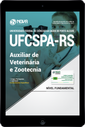 Download Apostila UFCSPA - RS PDF - Auxiliar de Veterinária e Zootecnia