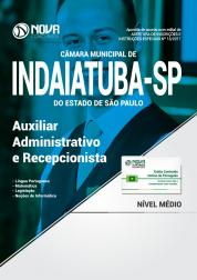 Apostila Câmara Municipal de Indaiatuba - SP - Auxiliar Administrativo e Recepcionista