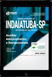 Download Apostila Câmara Municipal de Indaiatuba - SP PDF - Auxiliar Administrativo e Recepcionista