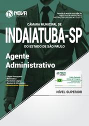Apostila Câmara Municipal de Indaiatuba - SP - Agente Administrativo