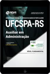 Download Apostila UFCSPA - RS PDF - Auxiliar em Administração