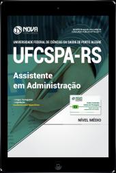 Download Apostila UFCSPA - RS PDF - Assistente em Administração