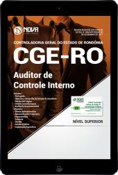 Download Apostila CGE - RO PDF - Auditor de Controle Interno