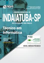 Apostila Câmara Municipal de Indaiatuba - SP - Técnico em Informática