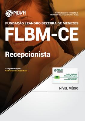 Apostila FLBM - CE - Recepcionista