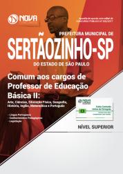 Apostila Prefeitura de Sertãozinho - SP - Comum aos cargos de Professor de Educação Básica II