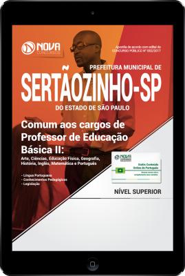 Download Apostila Prefeitura de Sertãozinho - SP PDF - Comum aos cargos de Professor de Educação Básica II