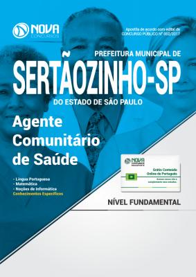 Apostila Prefeitura de Sertãozinho - SP - Agente Comunitário de Saúde