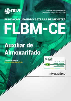 Apostila FLBM - CE - Auxiliar de Almoxarifado