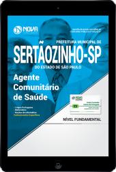 Download Apostila Prefeitura de Sertãozinho - SP PDF - Agente Comunitário de Saúde
