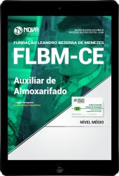 Download Apostila FLBM - CE PDF - Auxiliar de Almoxarifado