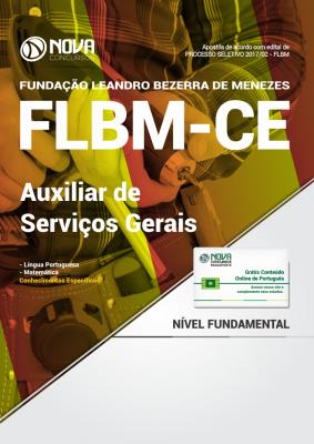 Apostila FLBM - CE - Auxiliar de Serviços Gerais