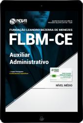 Download Apostila FLBM - CE PDF - Auxiliar Administrativo