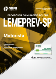 Apostila LEMEPREV- SP - Motorista
