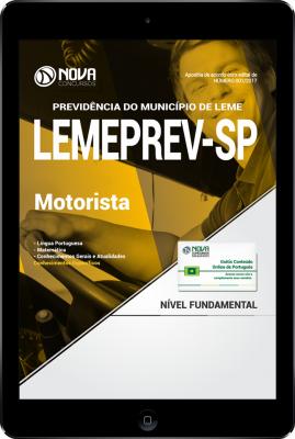 Download Apostila LEMEPREV- SP PDF - Motorista