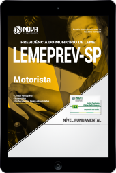 Download Apostila LEMEPREV- SP PDF - Motorista